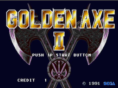 pixelated audio golden axe II