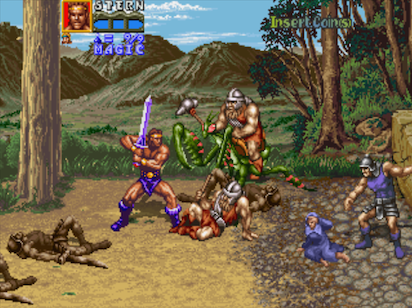pixelated audio golden axe revenge of death adder