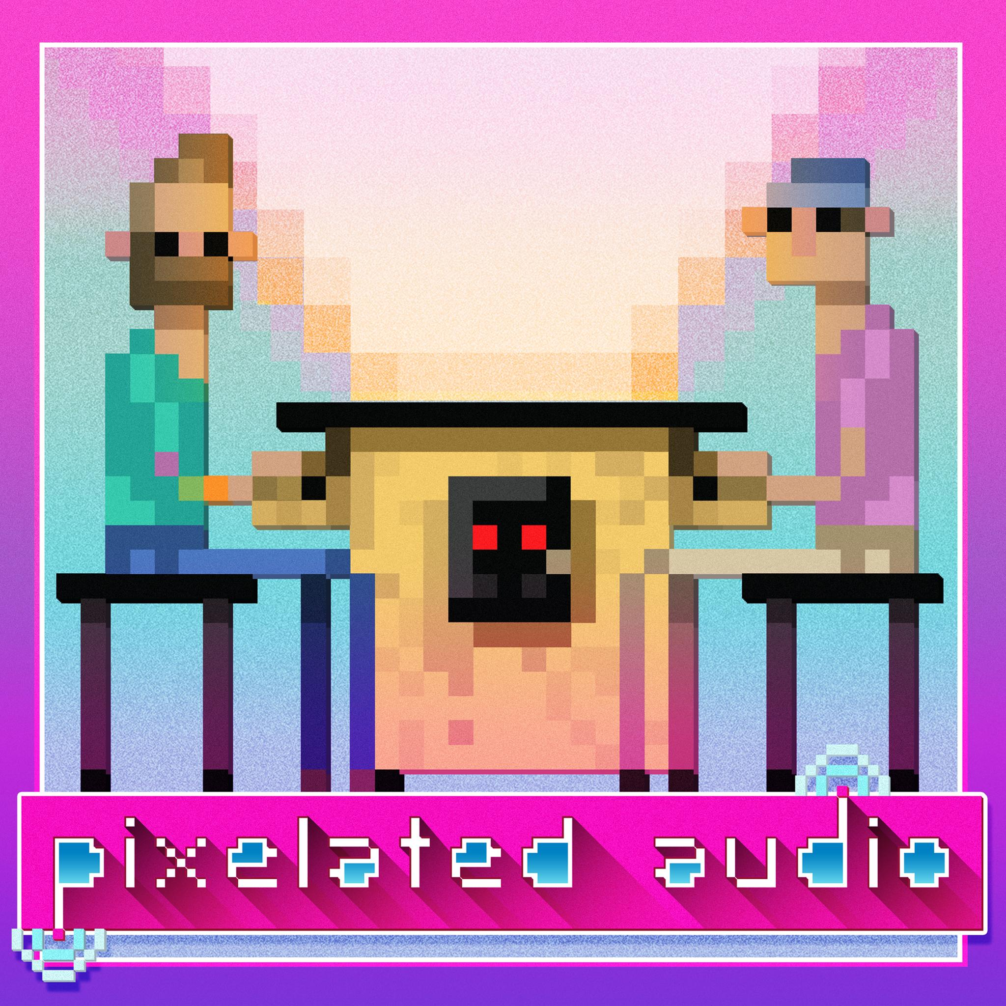 Pixelated Audio - Video Game Music podcast and Retro Gaming pixelated audio album art