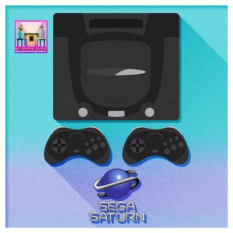 Sega Saturn Pixelated Audio