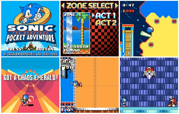 Pixelated Audio - Video Game Music podcast and Retro Gaming - Sonic the Hedgehog: Pocket Adventure