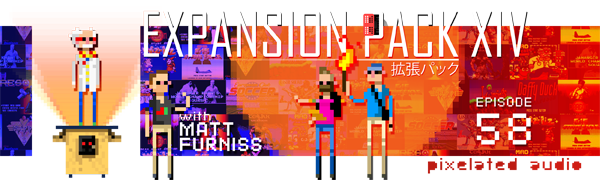 Pixelated Audio - Video Game Music podcast and Retro Gaming Matt Furniss